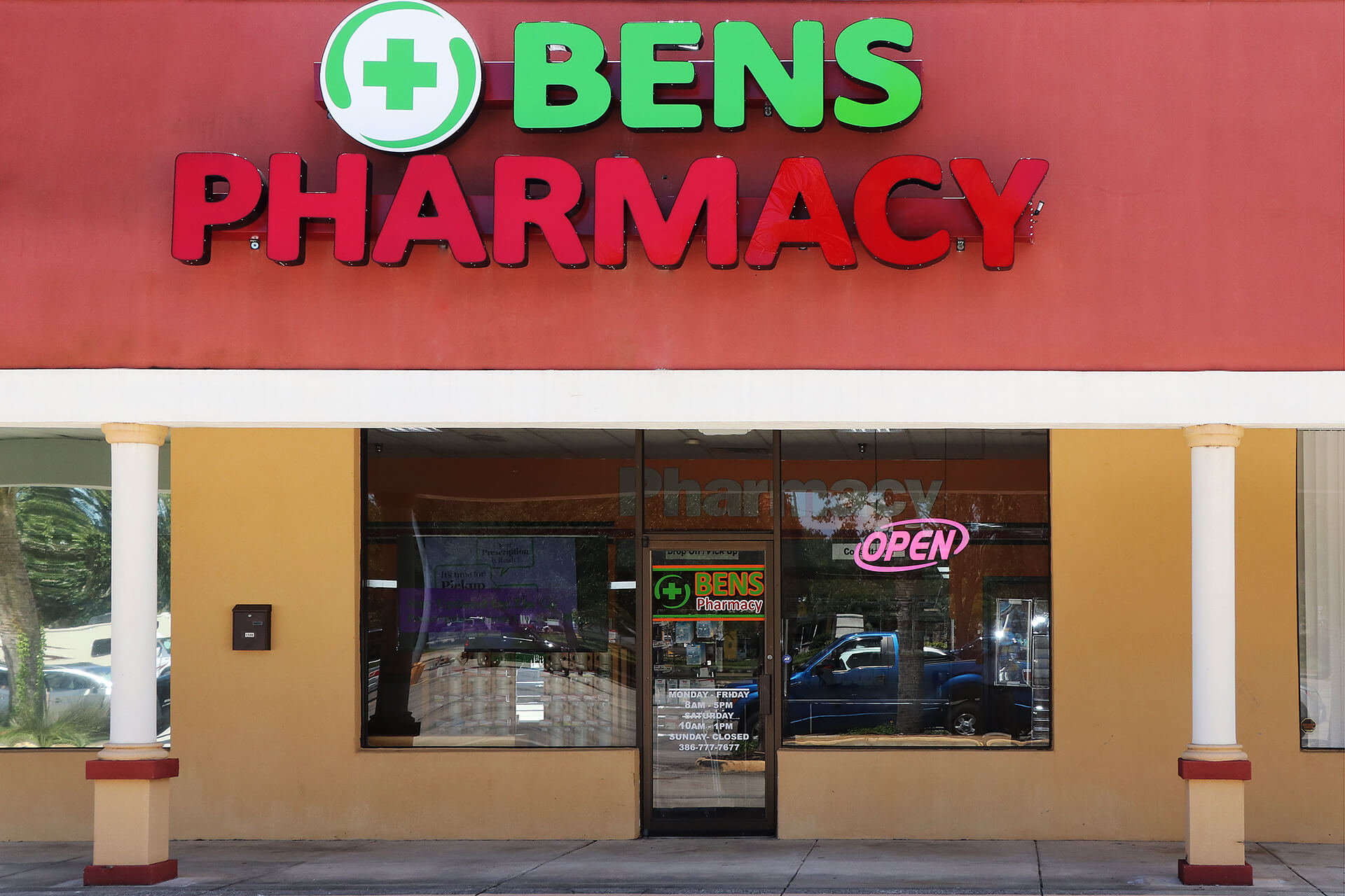 bens pharmacy front