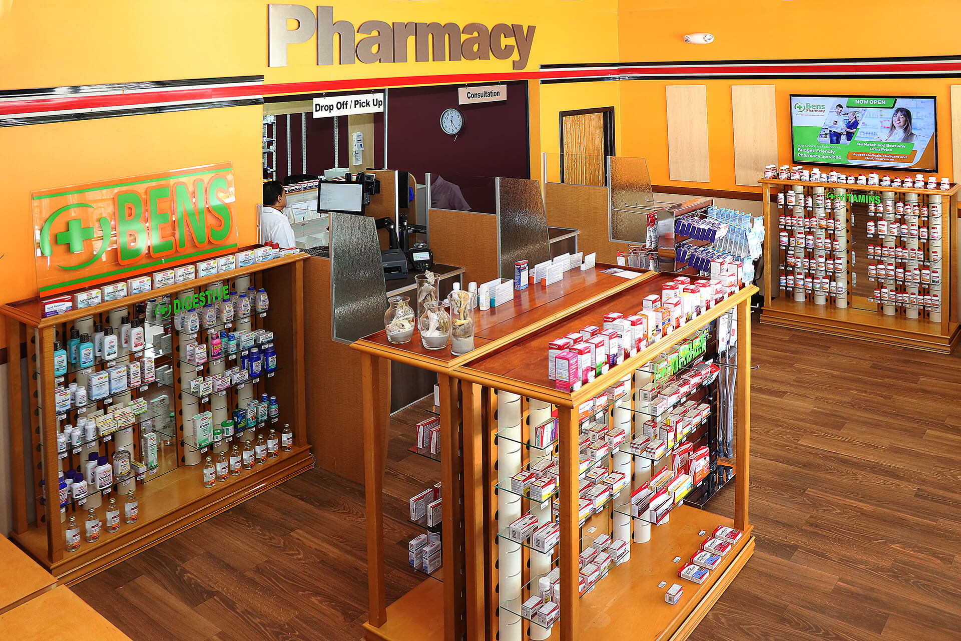 inside bens pharmacy